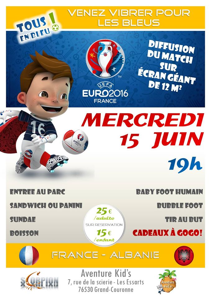 Retransmission de l' EURO 2016