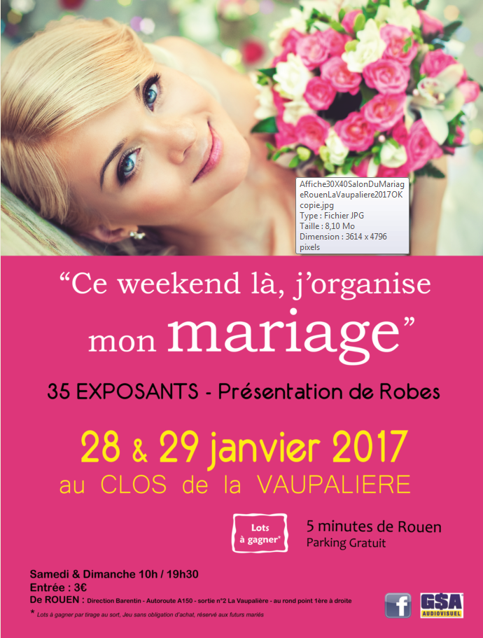 Salon du Mariage 2017 Clos de la Vaupalière