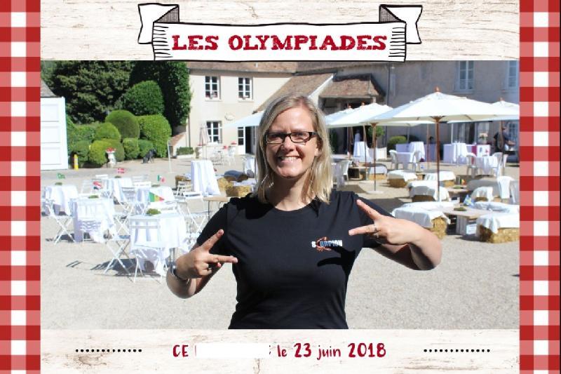Borne à selfie et Les Olympiades
