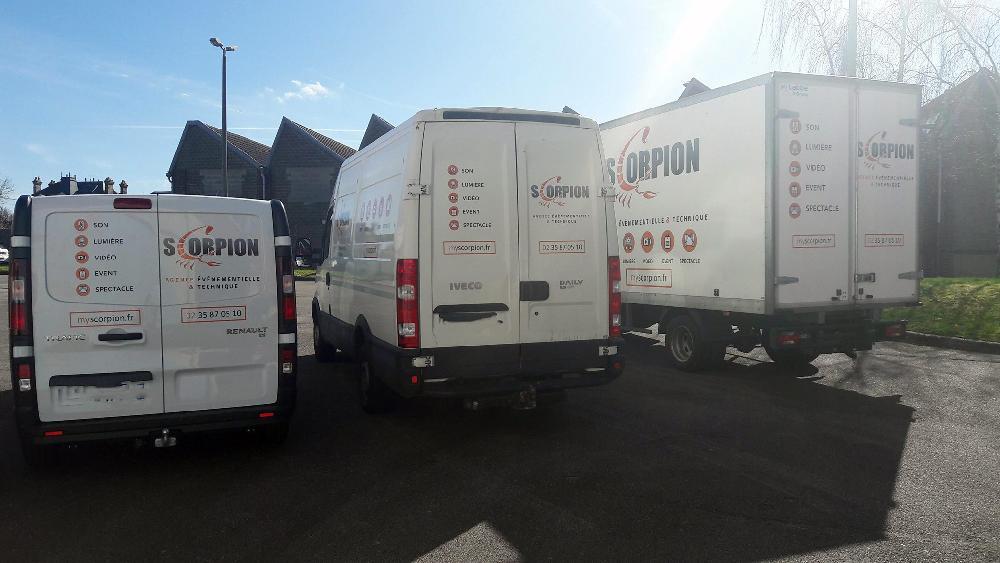 Flocage de nos camions