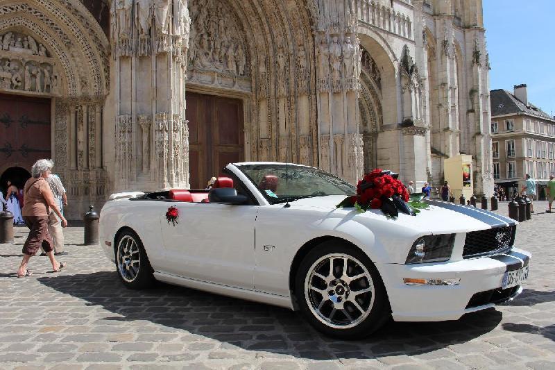 Location voiture de mariage