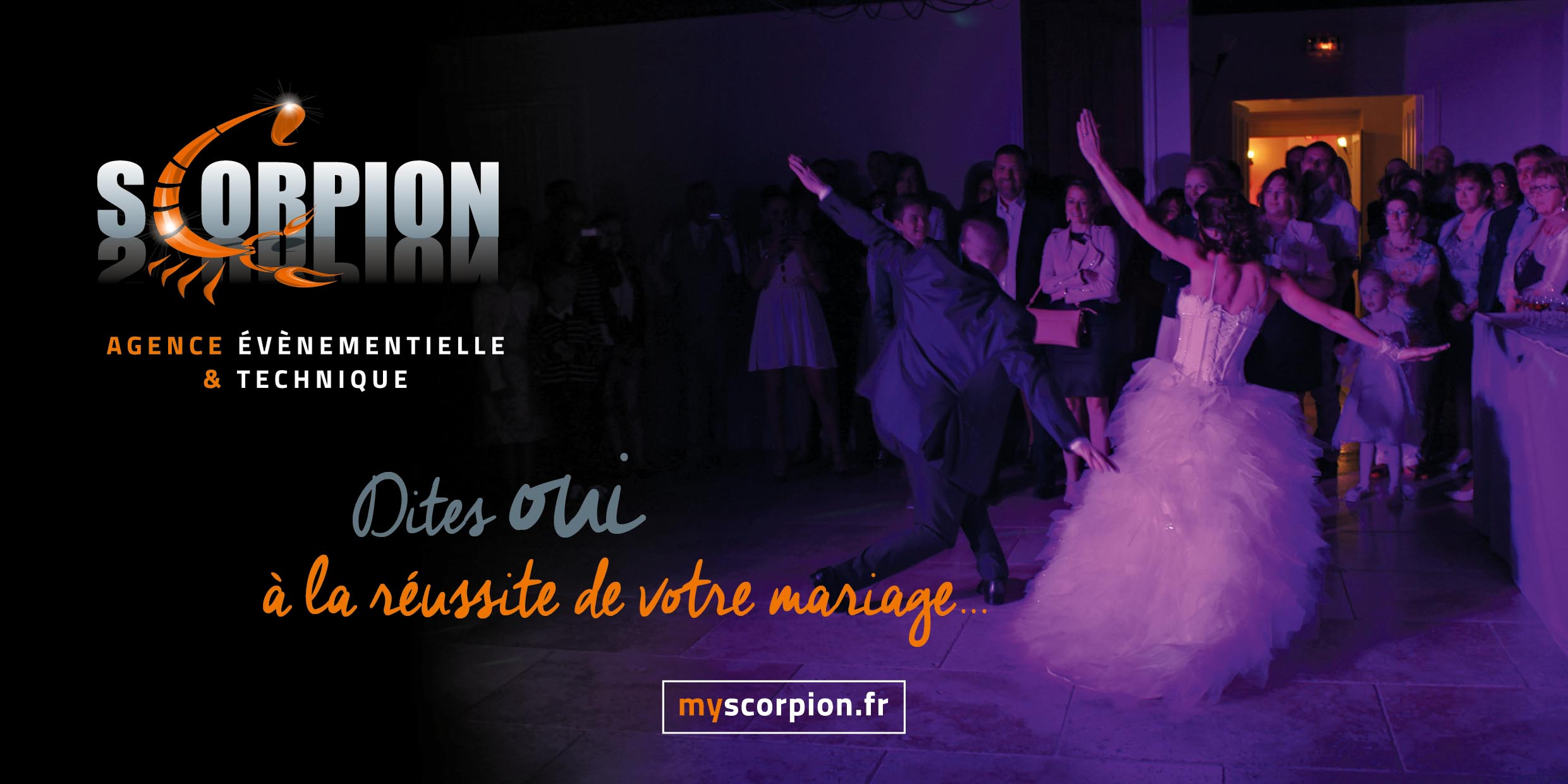 Scorpion au Salon du Mariage à Deauville !